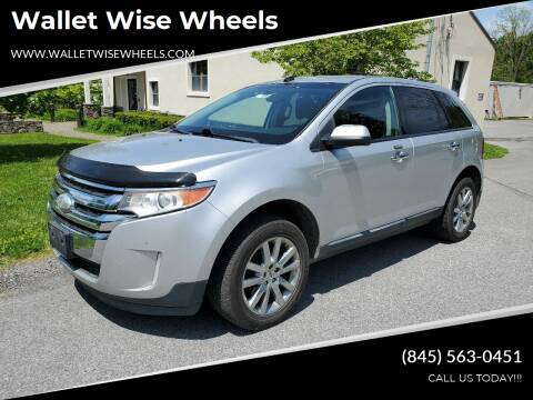 2011 Ford Edge for sale at Wallet Wise Wheels in Montgomery NY