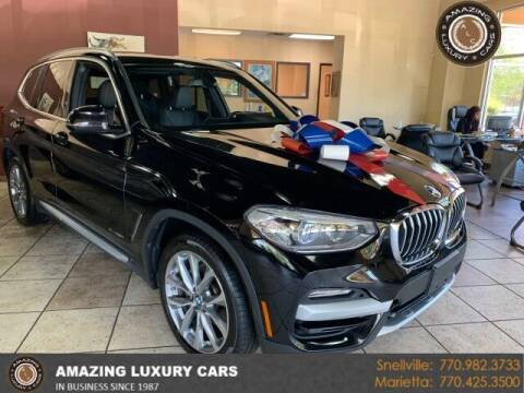2018 BMW X3 for sale at Amazing Luxury Cars in Snellville GA
