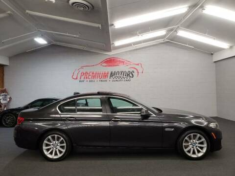 2014 BMW 5 Series for sale at Premium Motors in Villa Park IL