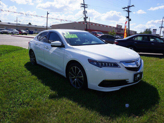 2017 Acura TLX for sale at BLUE RIBBON MOTORS in Baton Rouge LA