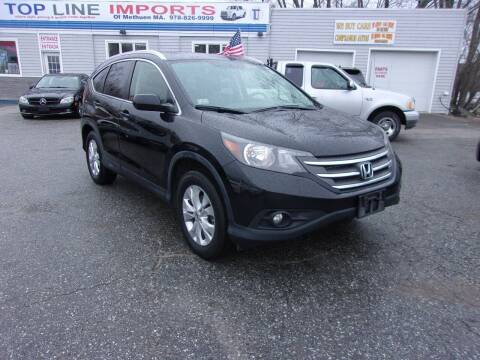 2012 Honda CR-V for sale at Top Line Import of Methuen in Methuen MA
