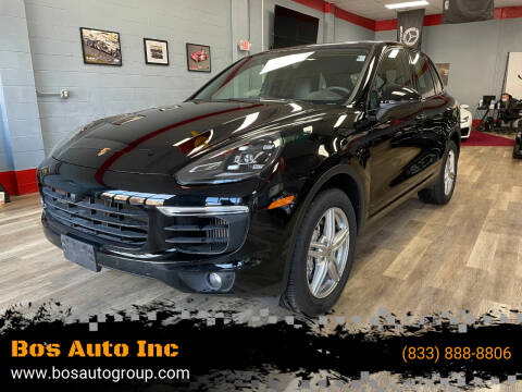 2017 Porsche Cayenne for sale at Bos Auto Inc in Quincy MA