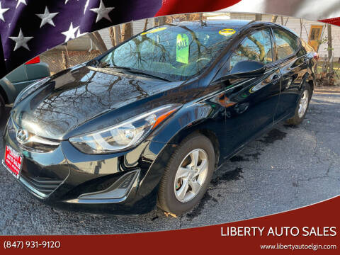 2014 Hyundai Elantra for sale at Liberty Auto Sales in Elgin IL