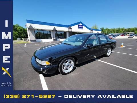 1994 Chevrolet Impala for sale at Impex Auto Sales in Greensboro NC
