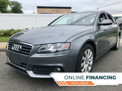 2012 Audi A4 for sale at New Jersey Auto Wholesale Outlet in Union Beach NJ