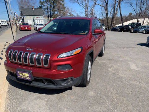 2014 Jeep Cherokee for sale at King Auto Sales in Leominster MA