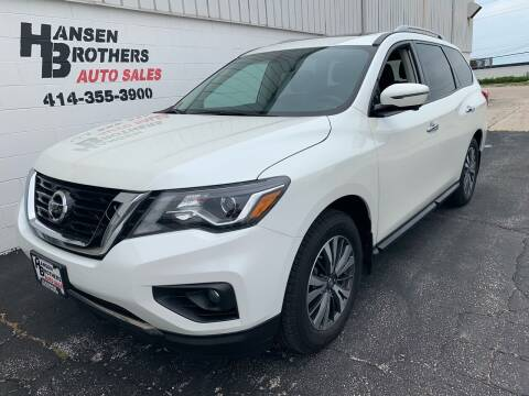 2017 Nissan Pathfinder for sale at HANSEN BROTHERS AUTO SALES in Milwaukee WI