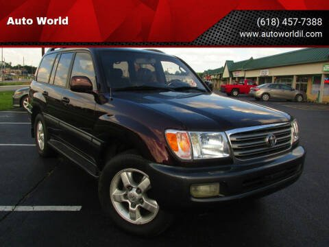 2003 Toyota Land Cruiser for sale at Auto World in Carbondale IL