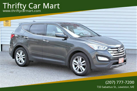 2013 Hyundai Santa Fe Sport for sale at Thrifty Car Mart in Lewiston ME