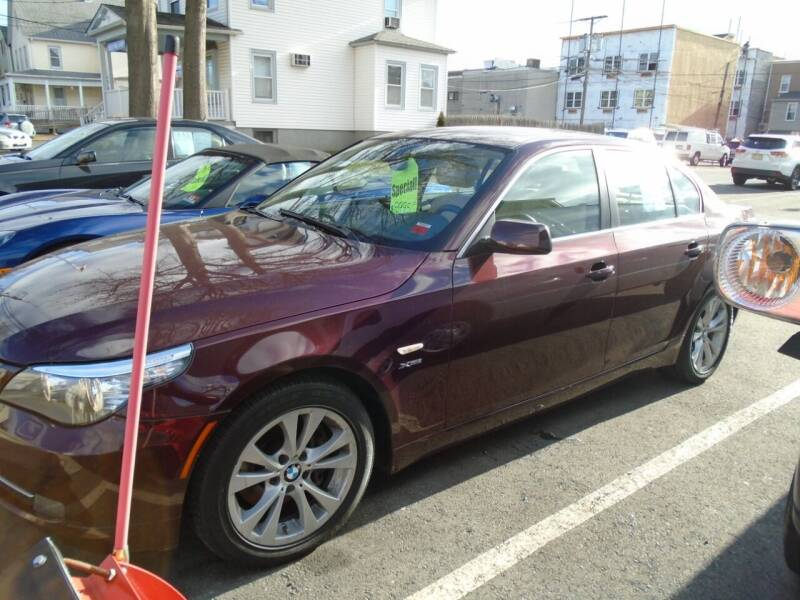 2010 BMW 5 Series for sale at Greg's Auto Sales in Dunellen NJ