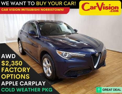 2019 Alfa Romeo Stelvio for sale at Car Vision Mitsubishi Norristown in Trooper PA