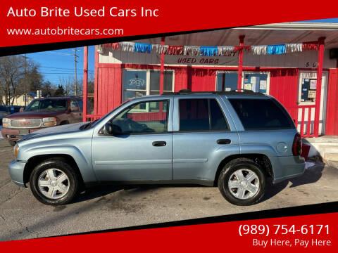 2006 Chevrolet TrailBlazer for sale at Auto Brite Used Cars Inc in Saginaw MI