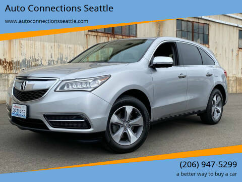 2014 Acura MDX for sale at Auto Connections Seattle in Seattle WA