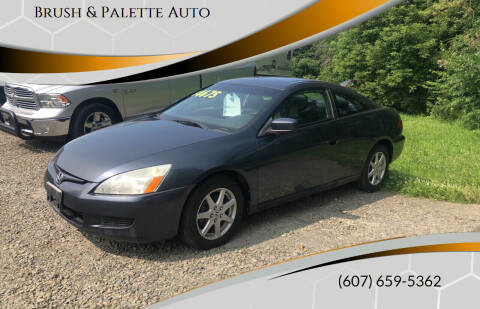 2003 Honda Accord for sale at Brush & Palette Auto in Candor NY