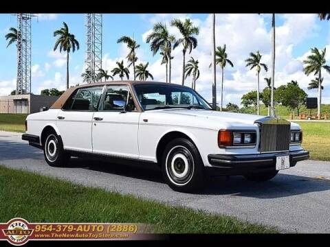 1987 Rolls-Royce Silver Spur for sale at The New Auto Toy Store in Fort Lauderdale FL