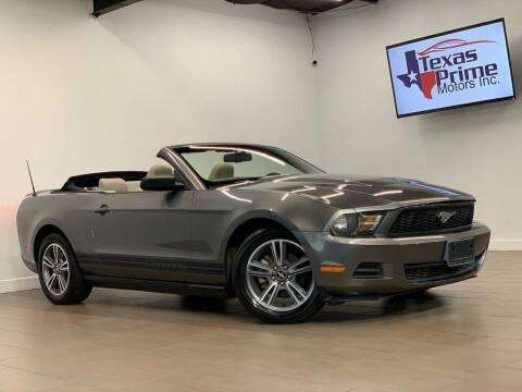 2010 Ford Mustang for sale at Texas Prime Motors in Houston TX