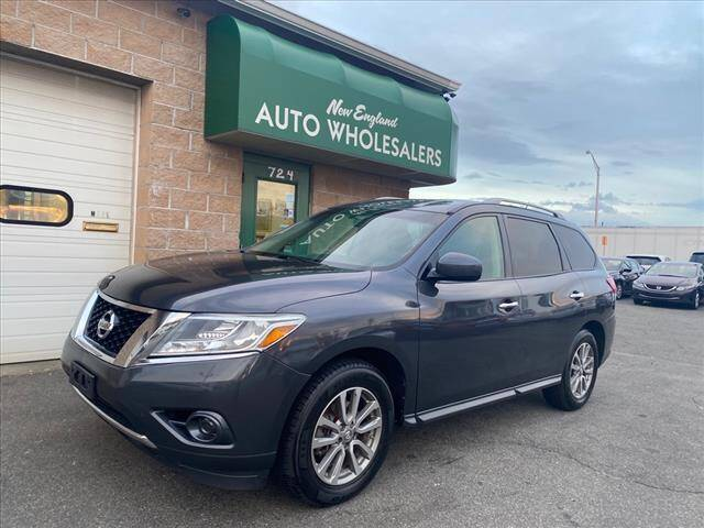 2013 Nissan Pathfinder for sale at New England Wholesalers in Springfield MA