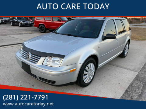 2004 Volkswagen Jetta for sale at AUTO CARE TODAY in Spring TX
