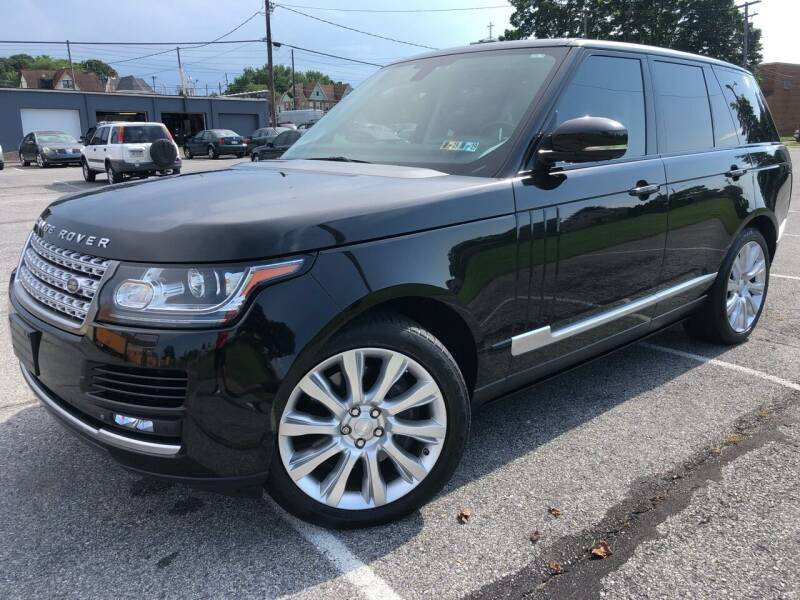 2015 Land Rover Range Rover for sale at Capri Auto Works in Allentown PA