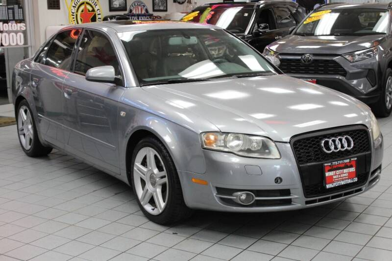 2005 Audi A4 for sale at Windy City Motors in Chicago IL