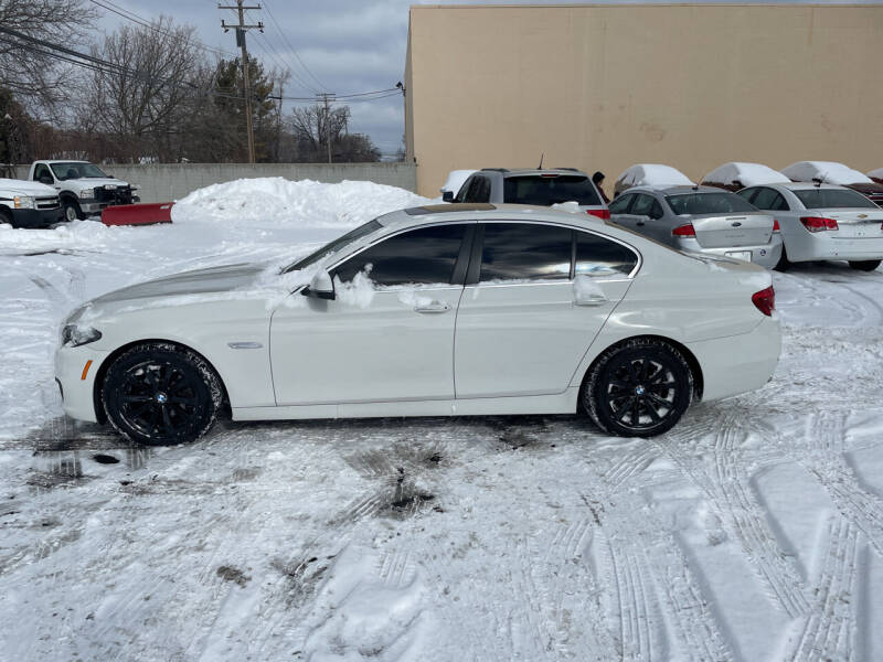 2015 BMW 5 Series for sale at My Town Auto Sales in Madison Heights MI