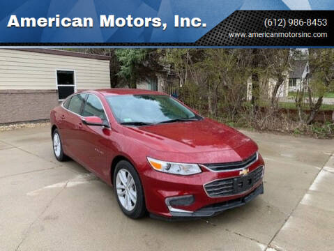 2018 Chevrolet Malibu for sale at American Motors, Inc. in Farmington MN