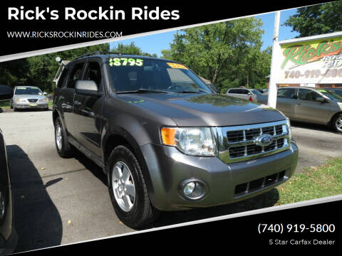 2012 Ford Escape for sale at Rick's Rockin Rides in Reynoldsburg OH
