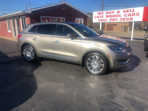2016 Lincoln MKX for sale at N & J Auto Sales in Warsaw IN