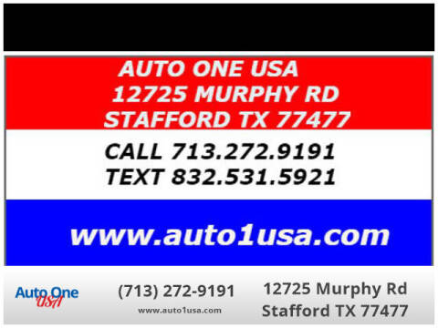 2016 Honda Odyssey for sale at Auto One USA in Stafford TX