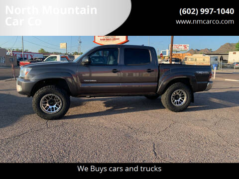 2012 Toyota Tacoma for sale at North Mountain Car Co in Phoenix AZ