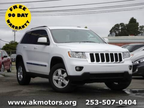 2013 Jeep Grand Cherokee for sale at AK Motors in Tacoma WA