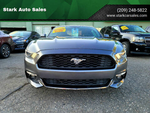 2016 Ford Mustang for sale at Stark Auto Sales in Modesto CA