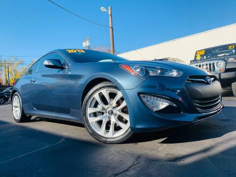 2013 Hyundai Genesis Coupe for sale at Alpha AutoSports in Roseville CA