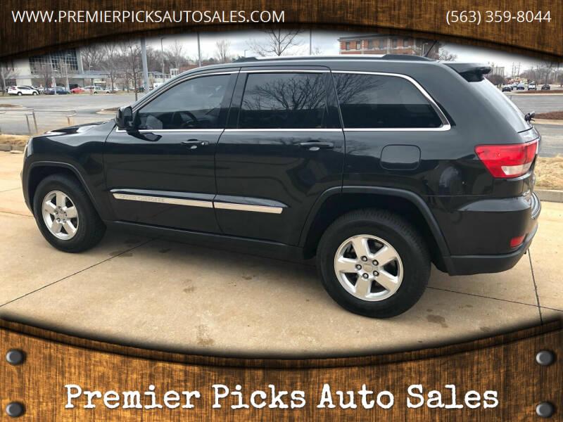 2012 Jeep Grand Cherokee for sale at Premier Picks Auto Sales in Bettendorf IA