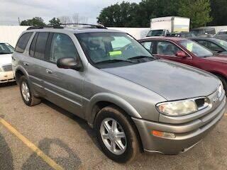 2002 Oldsmobile Bravada for sale at WELLER BUDGET LOT in Grand Rapids MI