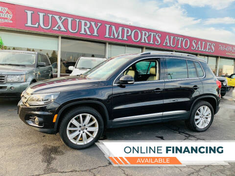 2012 Volkswagen Tiguan for sale at LUXURY IMPORTS AUTO SALES INC in North Branch MN