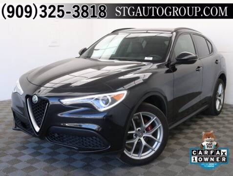 2018 Alfa Romeo Stelvio for sale at STG Auto Group in Montclair CA