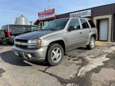 2008 Chevrolet TrailBlazer for sale at WINDOM AUTO OUTLET LLC in Windom MN