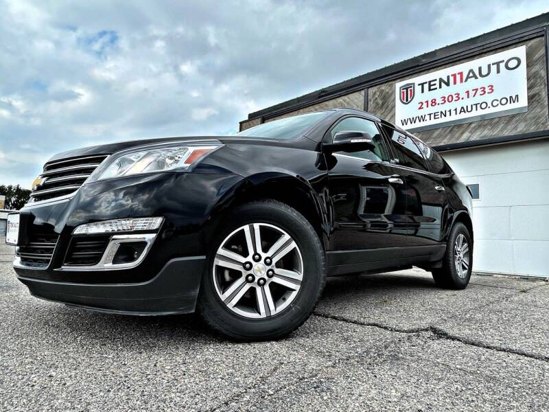 2016 Chevrolet Traverse for sale at Ten 11 Auto LLC in Dilworth MN