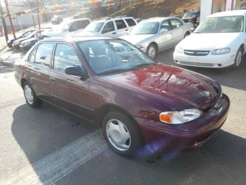 1998 Chevrolet Prizm for sale at Ricciardi Auto Sales in Waterbury CT