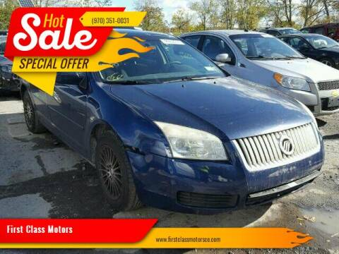 2006 Mercury Milan for sale at First Class Motors in Greeley CO