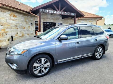 2015 Nissan Pathfinder for sale at Performance Motors Killeen Second Chance in Killeen TX