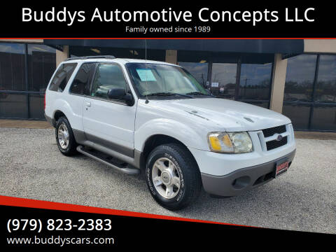 2003 Ford Explorer Sport for sale at Buddys Automotive Concepts LLC in Bryan TX