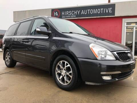 2014 Kia Sedona for sale at Hirschy Automotive in Fort Wayne IN