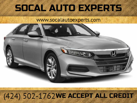 2020 Honda Accord for sale at SoCal Auto Experts in Culver City CA