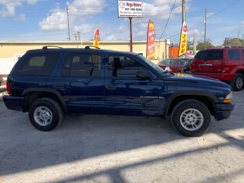 1999 Dodge Durango for sale at Mego Motors in Orlando FL
