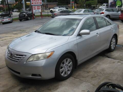 2007 Toyota Camry for sale at LAKE CITY AUTO SALES in Forest Park GA