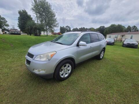 2012 Chevrolet Traverse for sale at Lakeview Auto Sales LLC in Sycamore GA