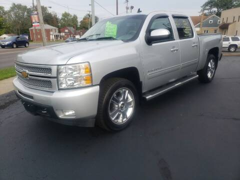 2013 Chevrolet Silverado 1500 for sale at STRUTHER'S AUTO MALL in Austintown OH
