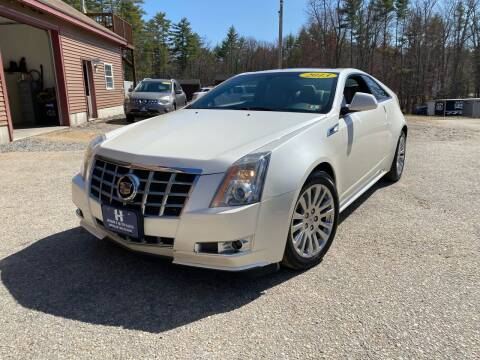 2013 Cadillac CTS for sale at Hornes Auto Sales LLC in Epping NH